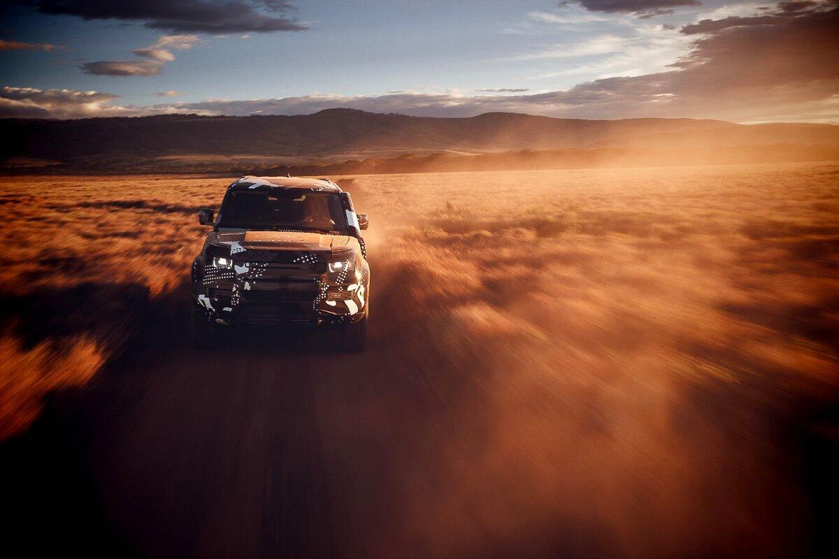 Land Rover Defender 2020 thử thách sức bền tại Kenya, chuẩn bị ra mắt trong năm nay - Hình 3