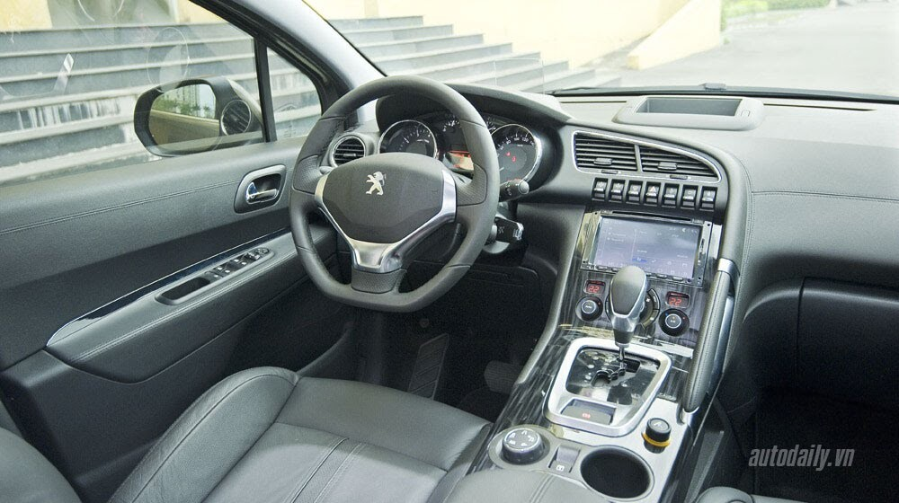 """Lên Tam Đảo, thử xe """"chất"""" Pháp Peugeot 3008 - Hình 9"""