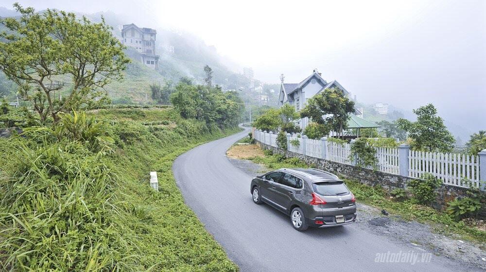 """Lên Tam Đảo, thử xe """"chất"""" Pháp Peugeot 3008 - Hình 18"""