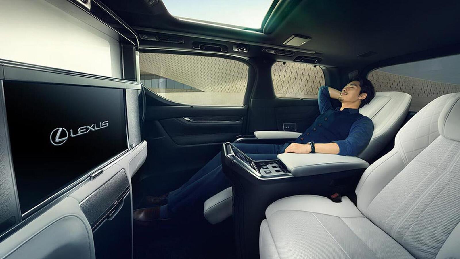 Lexus giới thiệu LM hoàn toàn mới: Chiếc minivan mang đẳng cấp khác biệt so với Toyota Alphard - Hình 5