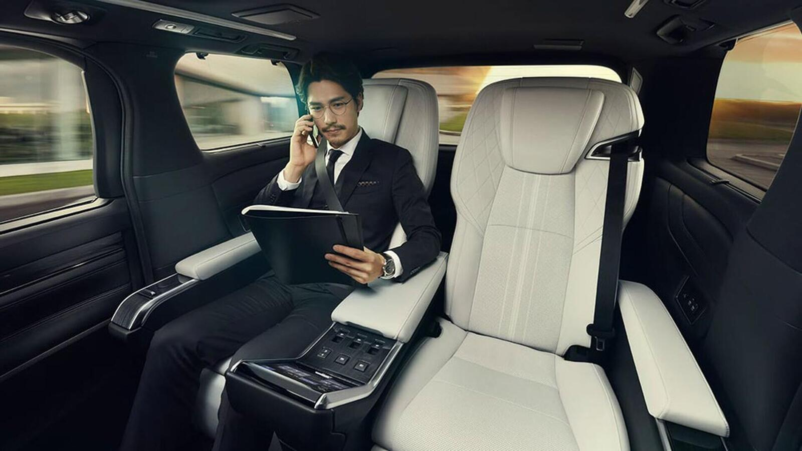 Lexus giới thiệu LM hoàn toàn mới: Chiếc minivan mang đẳng cấp khác biệt so với Toyota Alphard - Hình 6