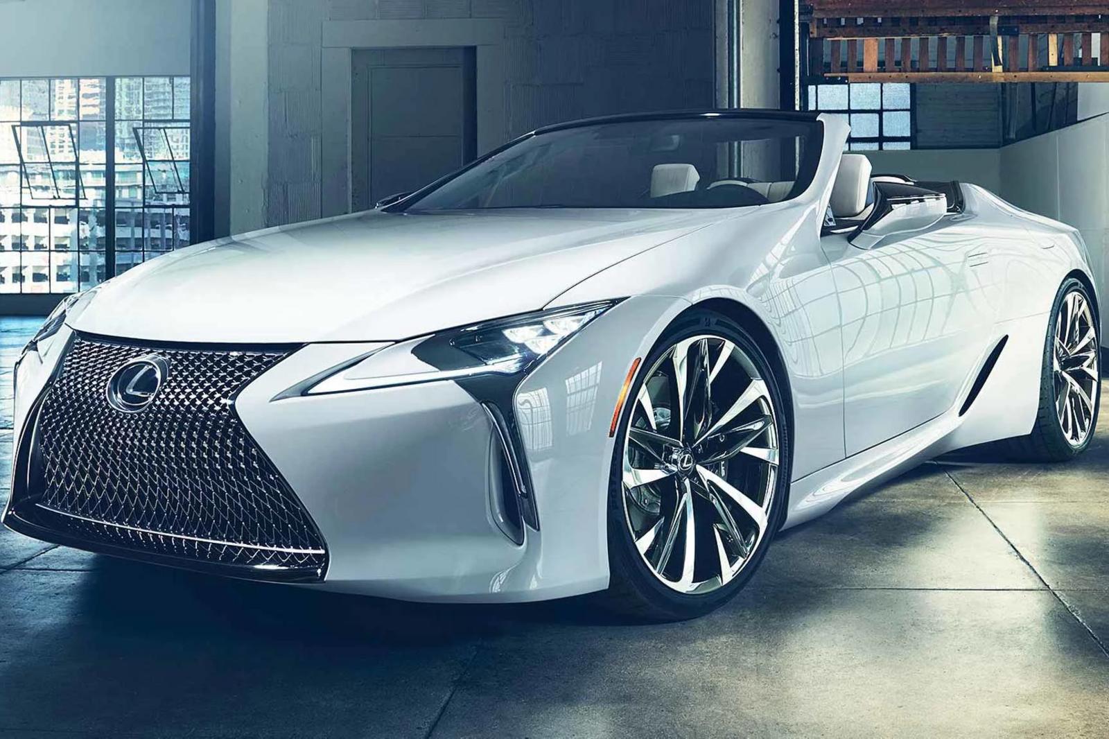 Lexus LC Convertible Concept 2020 sắp ra mắt tại Triển Lãm ô tô Quốc Tế Bắc Mỹ 2019 - Hình 1