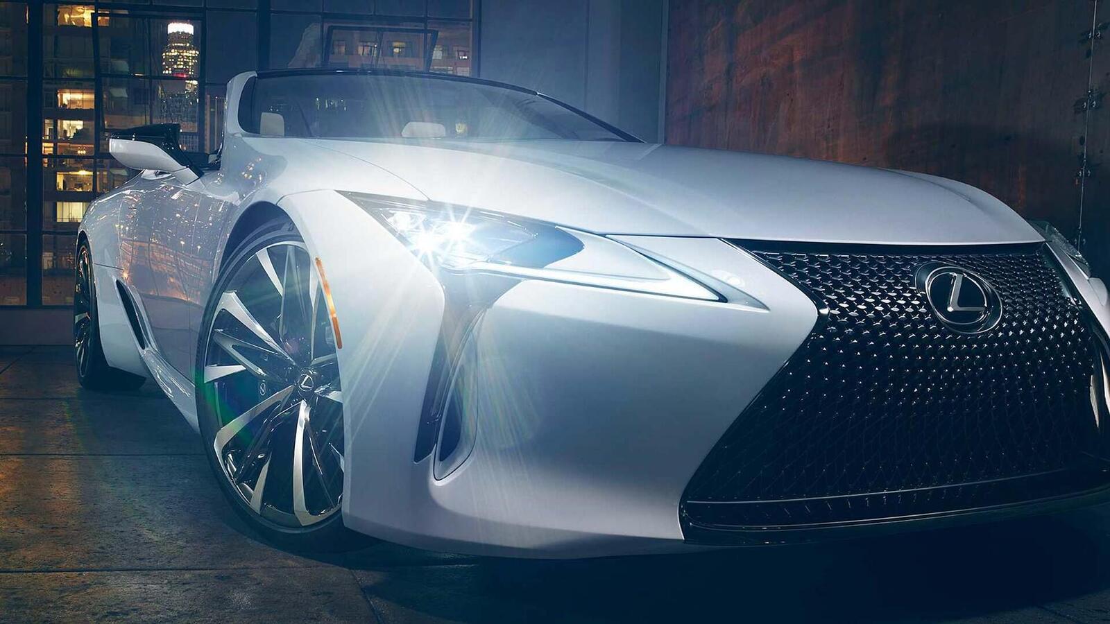Lexus LC Convertible Concept 2020 sắp ra mắt tại Triển Lãm ô tô Quốc Tế Bắc Mỹ 2019 - Hình 3