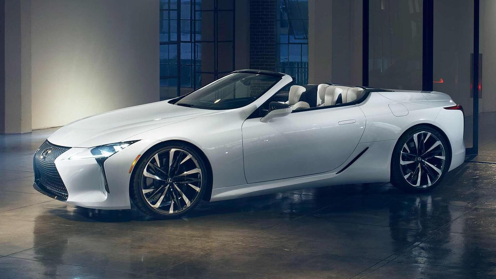 Lexus LC Convertible Concept 2020 sắp ra mắt tại Triển Lãm ô tô Quốc Tế Bắc Mỹ 2019 - Hình 4