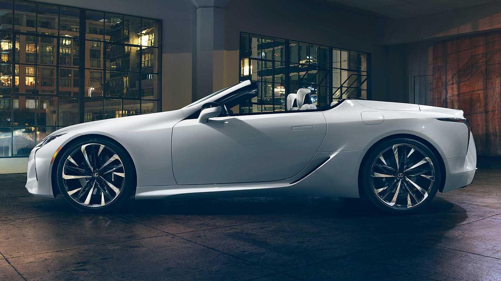 Lexus LC Convertible Concept 2020 sắp ra mắt tại Triển Lãm ô tô Quốc Tế Bắc Mỹ 2019 - Hình 5
