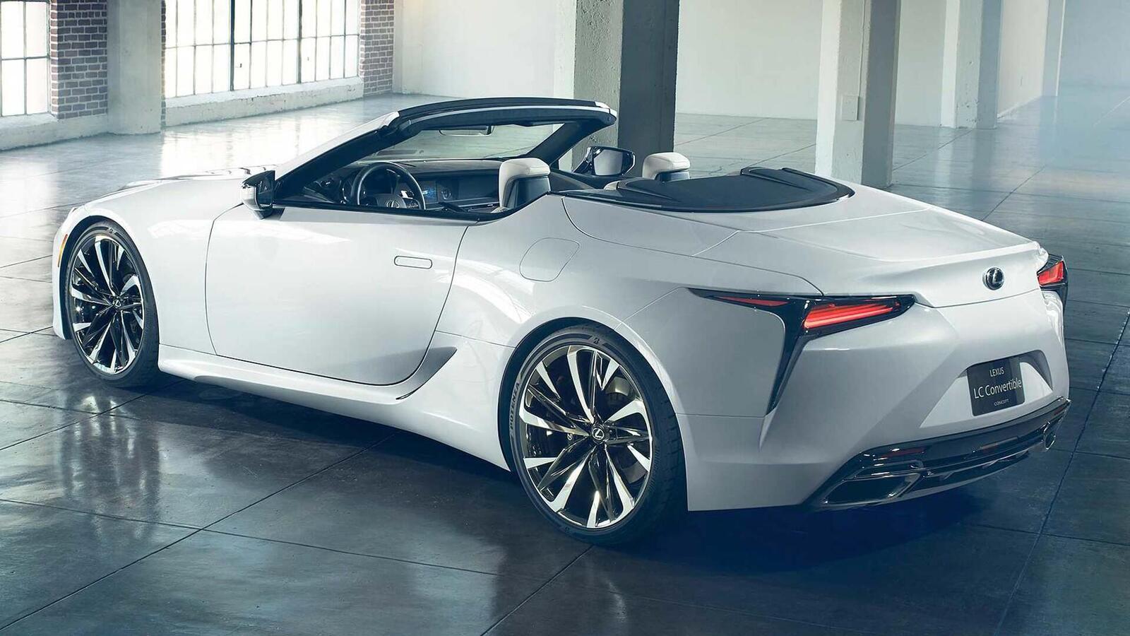 Lexus LC Convertible Concept 2020 sắp ra mắt tại Triển Lãm ô tô Quốc Tế Bắc Mỹ 2019 - Hình 6