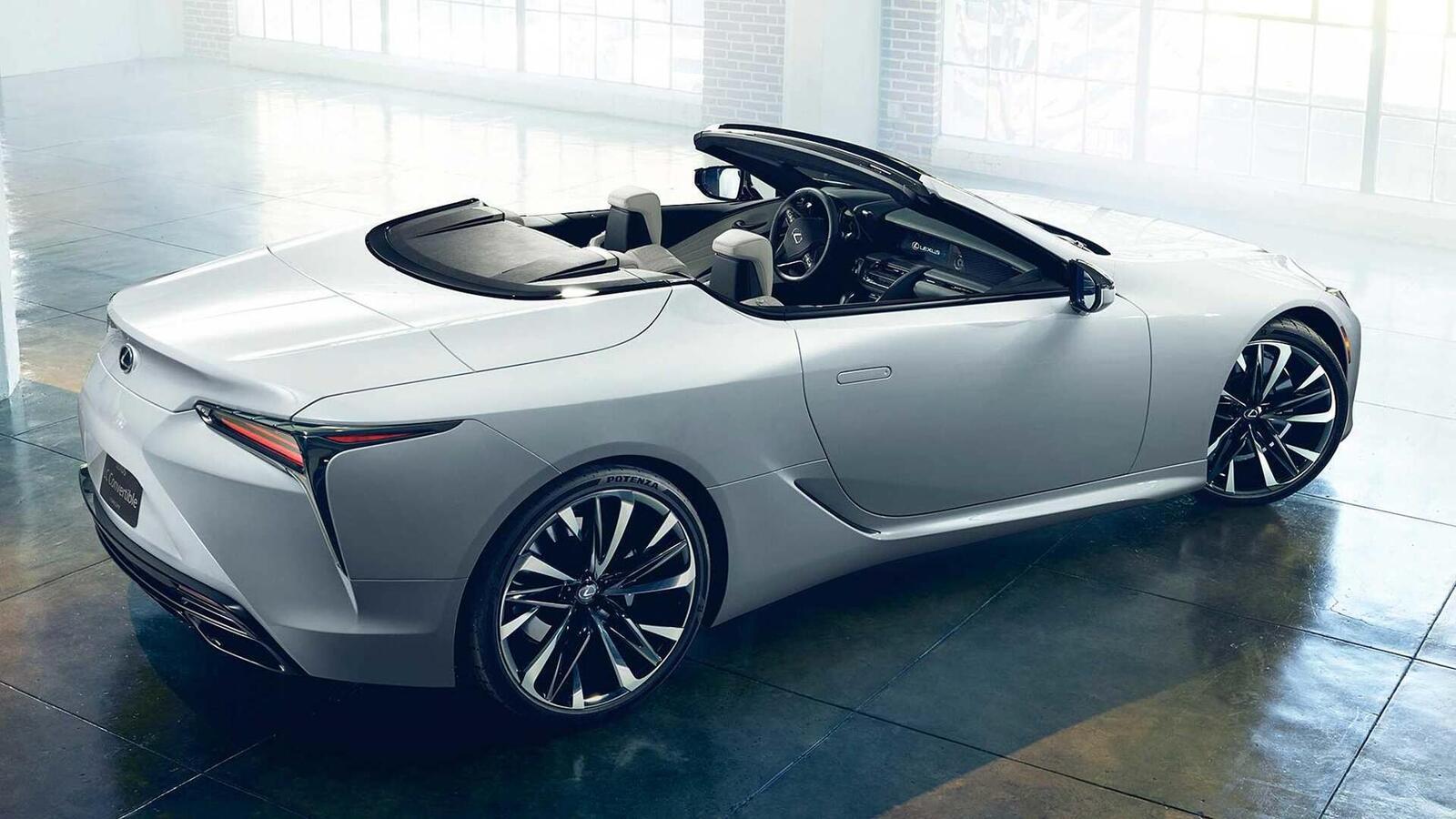 Lexus LC Convertible Concept 2020 sắp ra mắt tại Triển Lãm ô tô Quốc Tế Bắc Mỹ 2019 - Hình 7