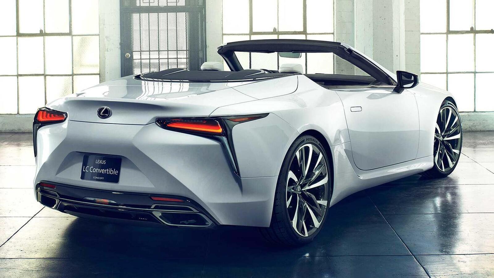 Lexus LC Convertible Concept 2020 sắp ra mắt tại Triển Lãm ô tô Quốc Tế Bắc Mỹ 2019 - Hình 8