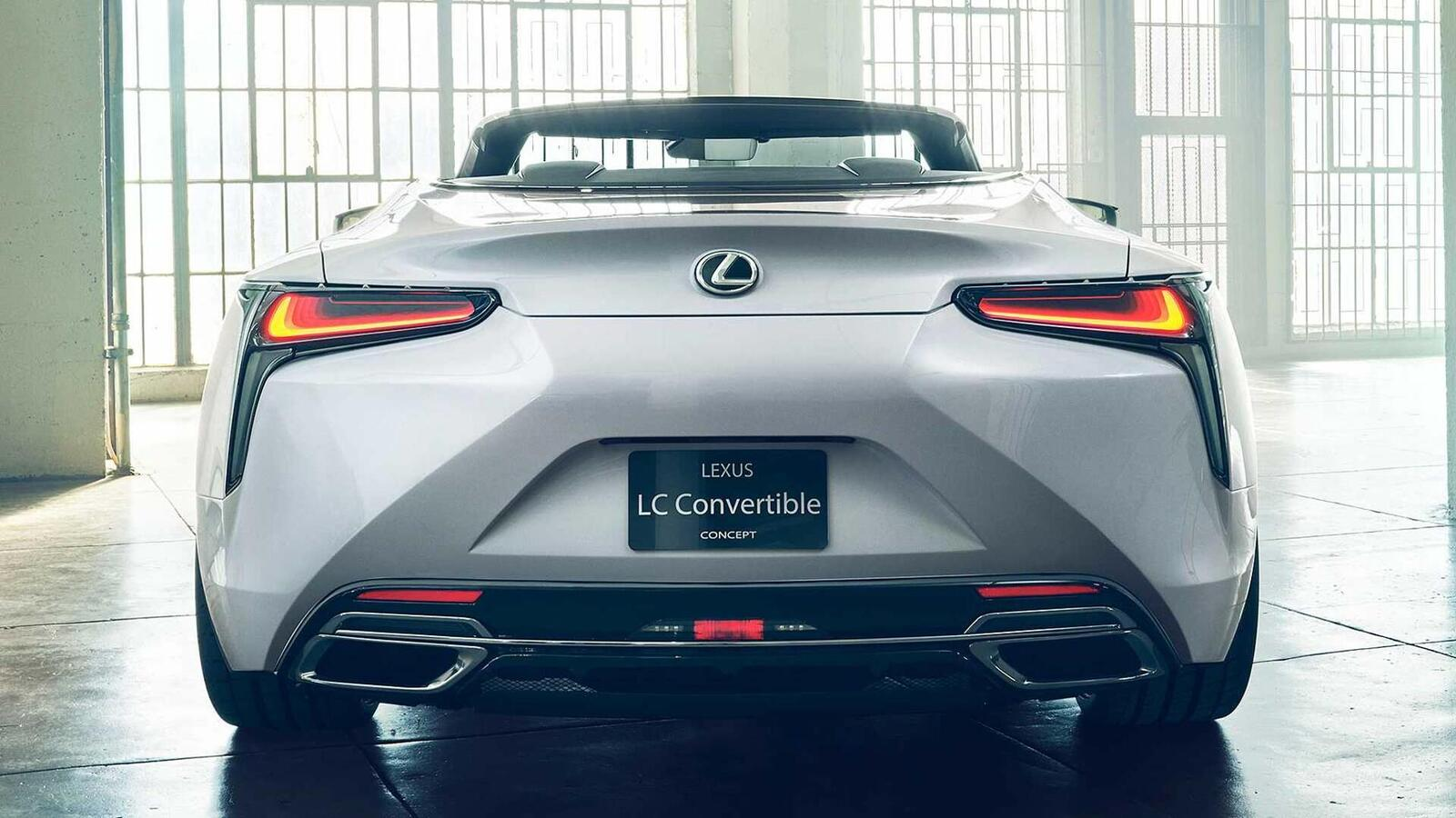 Lexus LC Convertible Concept 2020 sắp ra mắt tại Triển Lãm ô tô Quốc Tế Bắc Mỹ 2019 - Hình 9