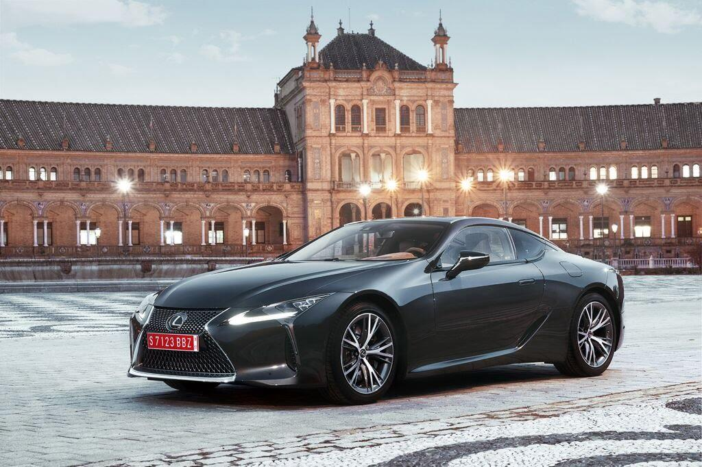 Lexus LC sẽ đến Triển lãm Ô tô Việt Nam 2017 - Hình 1