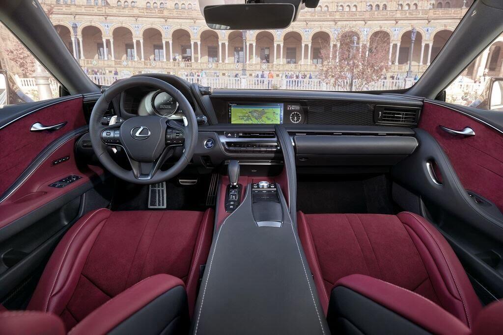Lexus LC sẽ đến Triển lãm Ô tô Việt Nam 2017 - Hình 6