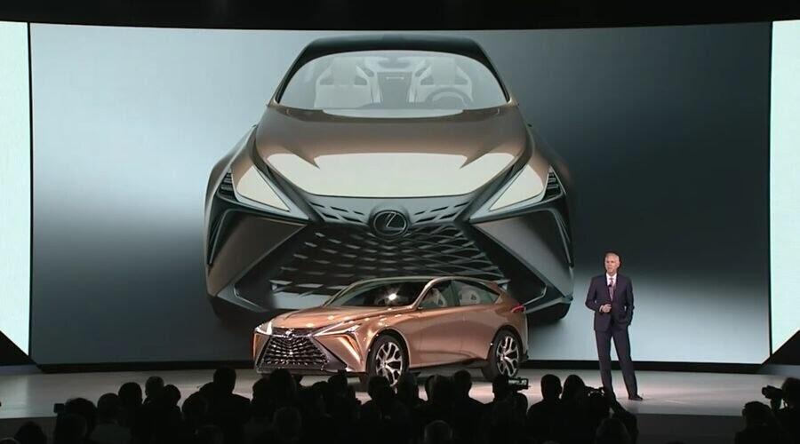 Lexus LF-1 Limitless Concept mới - crossover hàng đầu của Lexus trình làng - Hình 1