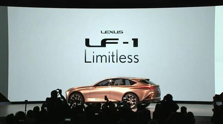 Lexus LF-1 Limitless Concept mới - crossover hàng đầu của Lexus trình làng - Hình 2