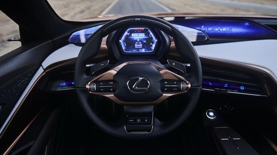 Lexus LF-1 Limitless Concept mới - crossover hàng đầu của Lexus trình làng - Hình 9