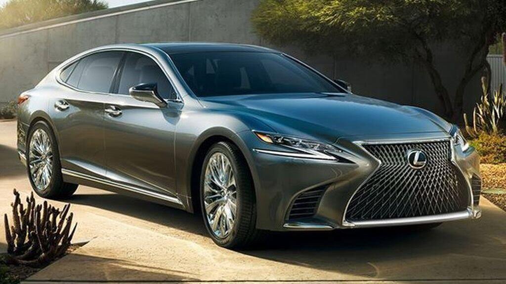 Lexus LS 2018 sẽ - Hình 1