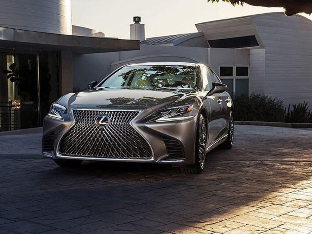 Lexus LS 2018 sẽ - Hình 3