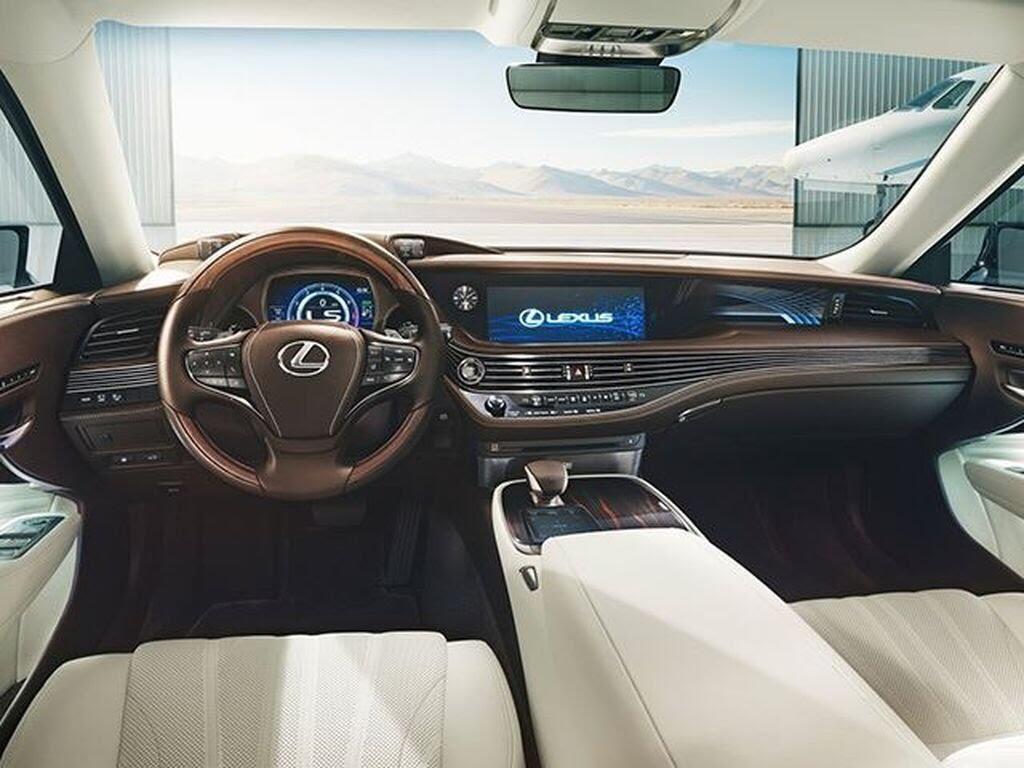 Lexus LS 2018 sẽ - Hình 4