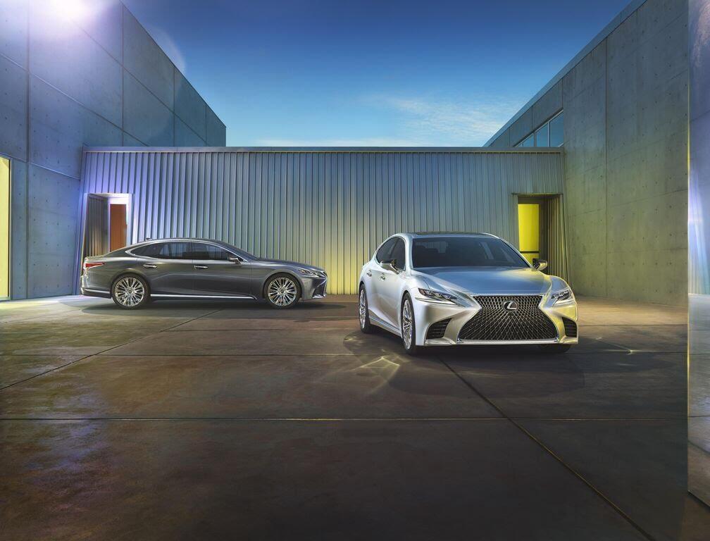 Lexus LS 2018 sẽ - Hình 5