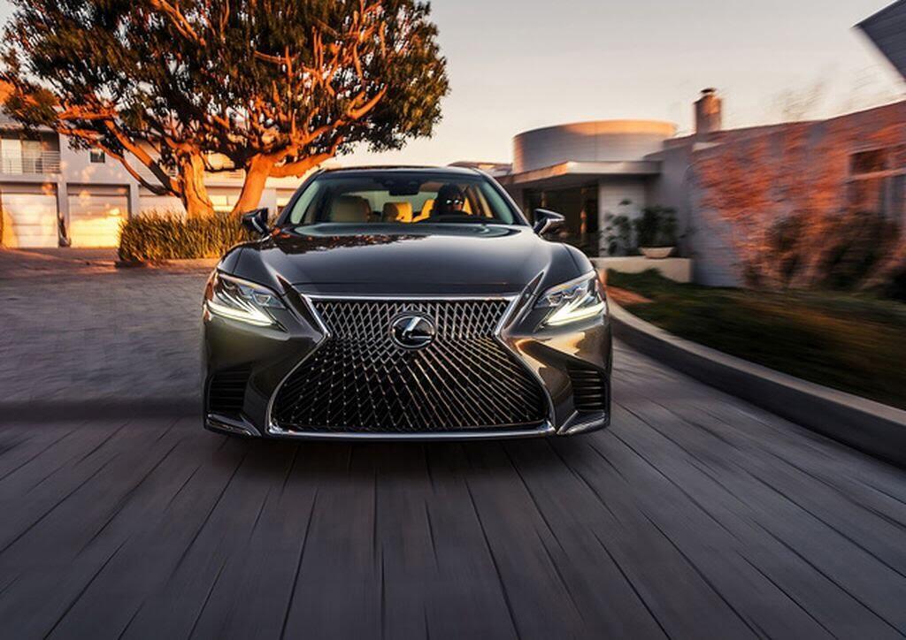 Lexus LS 2018 sẽ - Hình 6