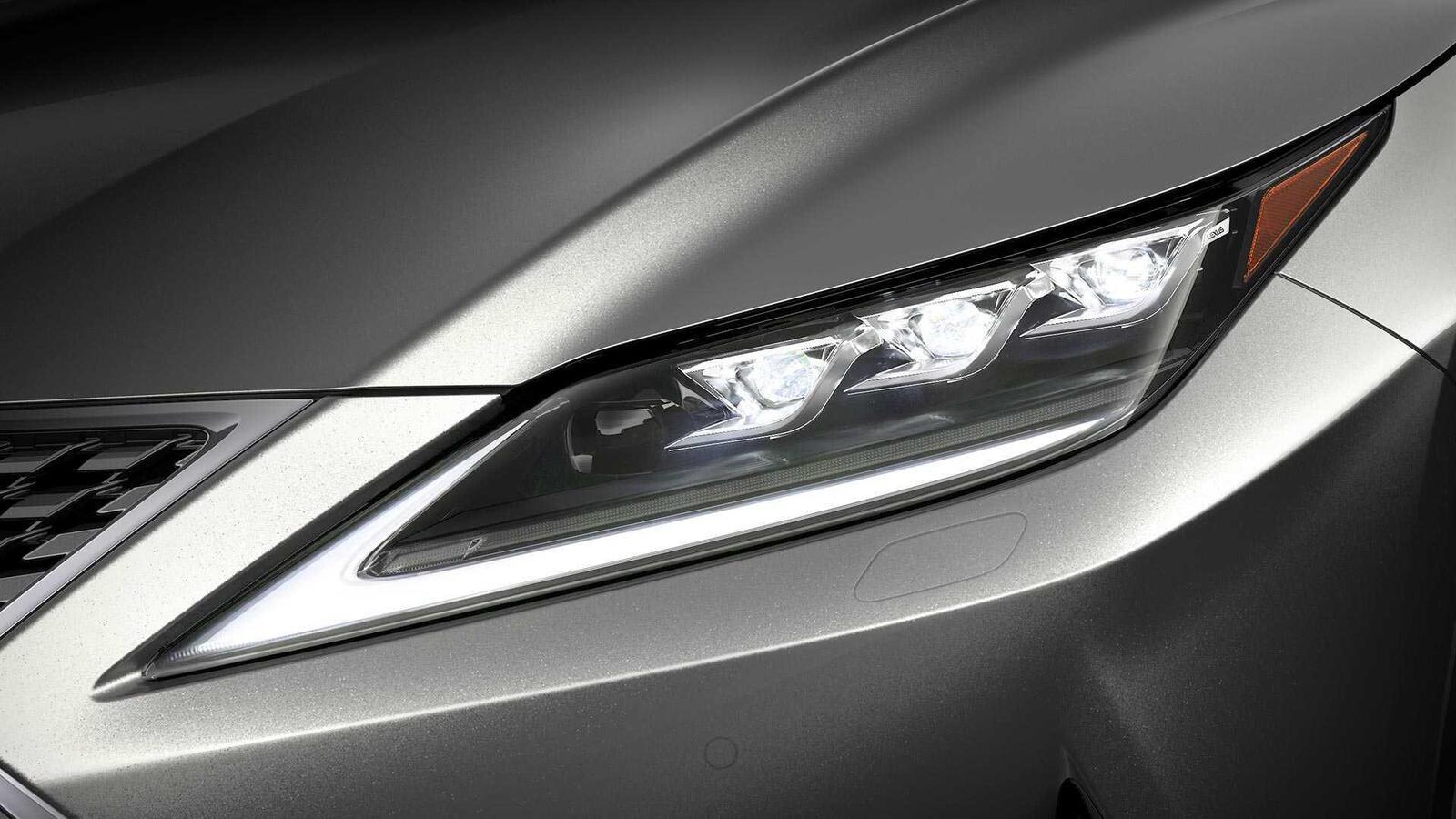 Lexus ra mắt công nghệ đèn pha thích ứng Bladescan - Hình 1