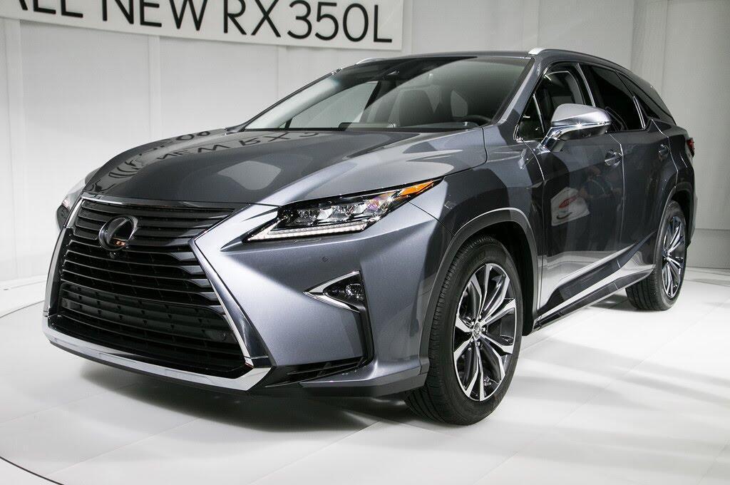 Lexus RX L 2018 ra mắt, bổ sung hàng ghế thứ 3 - Hình 1