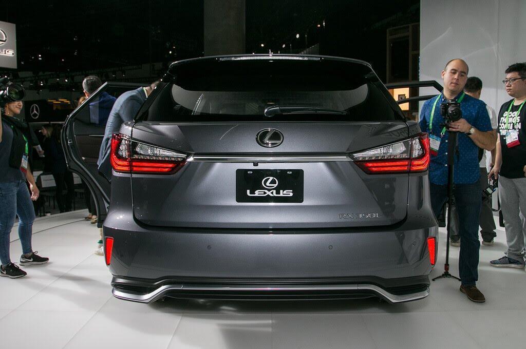 Lexus RX L 2018 ra mắt, bổ sung hàng ghế thứ 3 - Hình 4