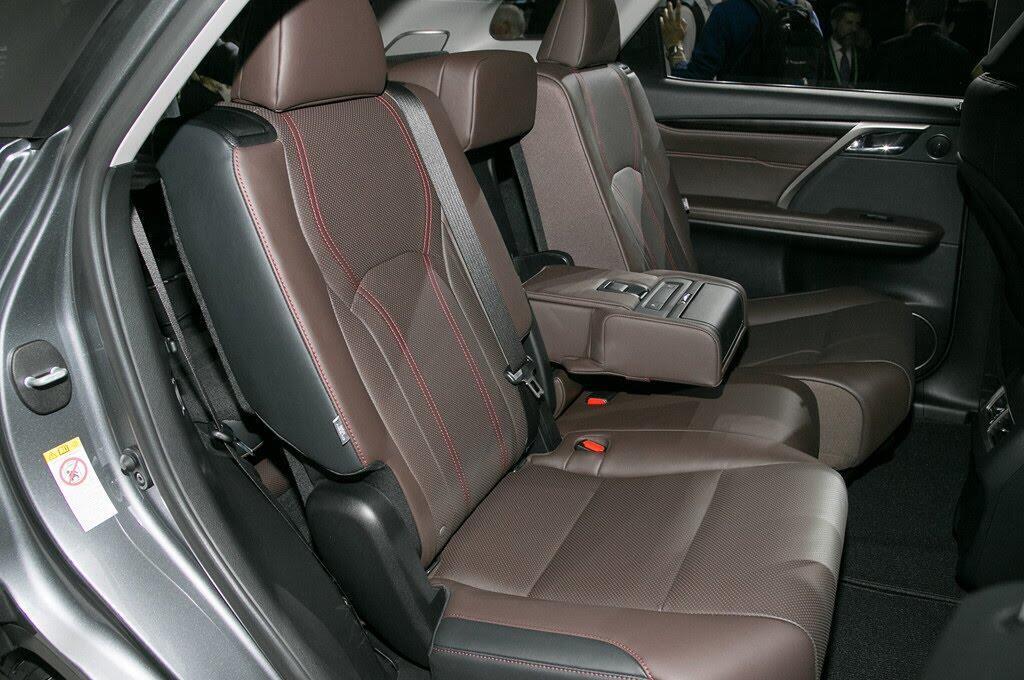 Lexus RX L 2018 ra mắt, bổ sung hàng ghế thứ 3 - Hình 6