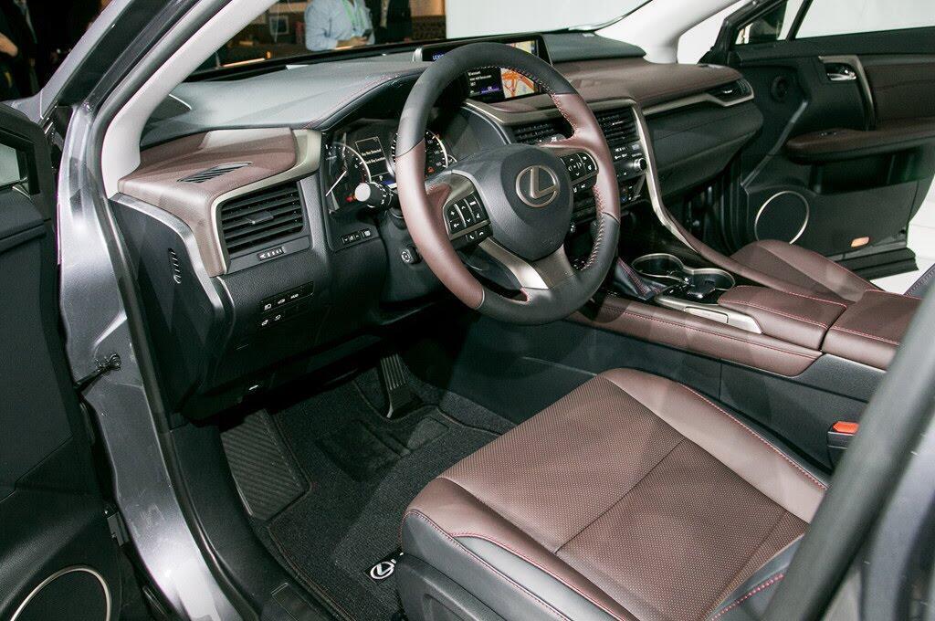 Lexus RX L 2018 ra mắt, bổ sung hàng ghế thứ 3 - Hình 7