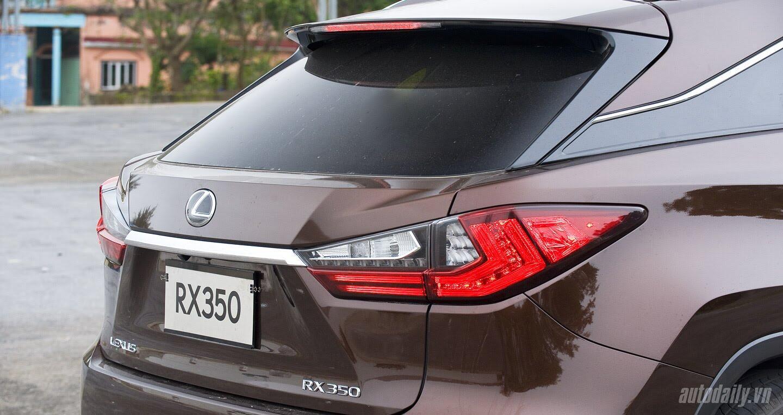 Lexus RX350 – Xứng tầm crossover hạng sang - Hình 8