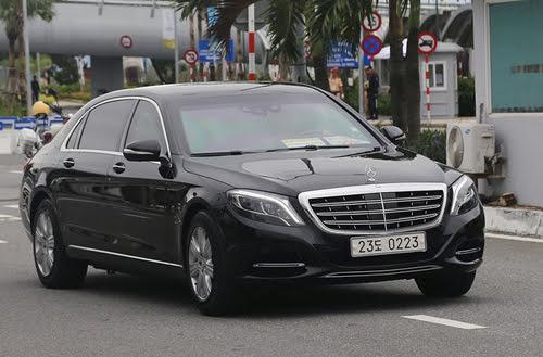 Limousine chống đạn của Tổng thống Hàn Quốc đến Việt Nam - Hình 1