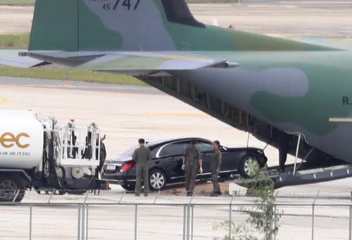 Limousine chống đạn của Tổng thống Hàn Quốc đến Việt Nam - Hình 2