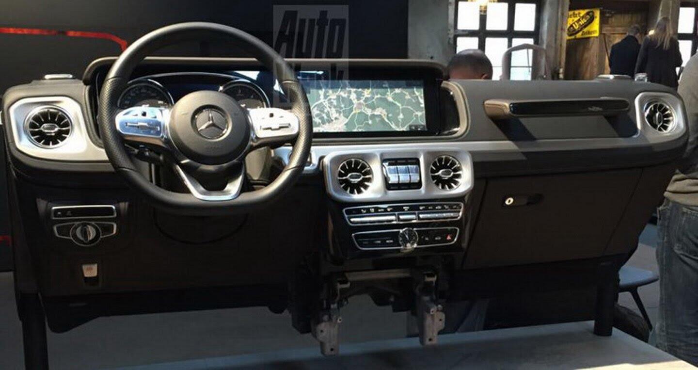 Lộ ảnh nội thất Mercedes-Benz G-Class 2019 - Hình 1