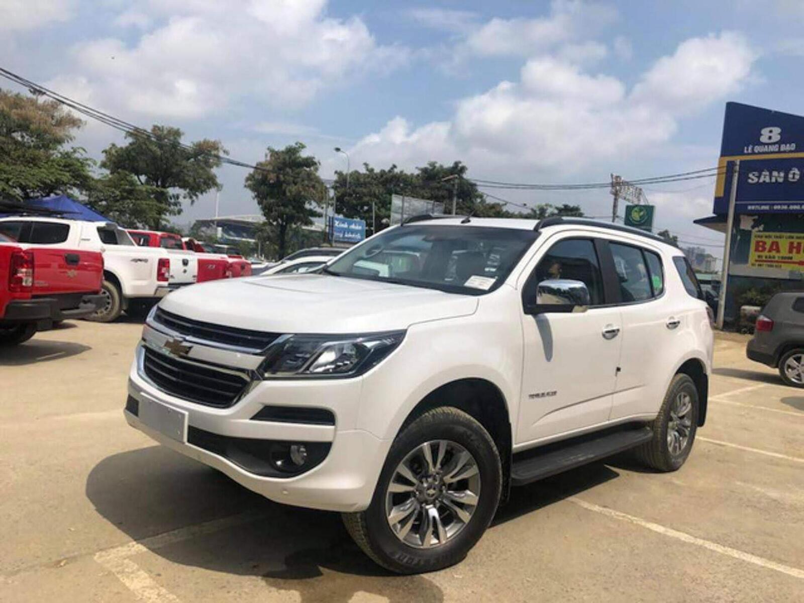 Lô Chevrolet Trailblazer đầu tiên xuất hiện tại đại lý - Hình 1