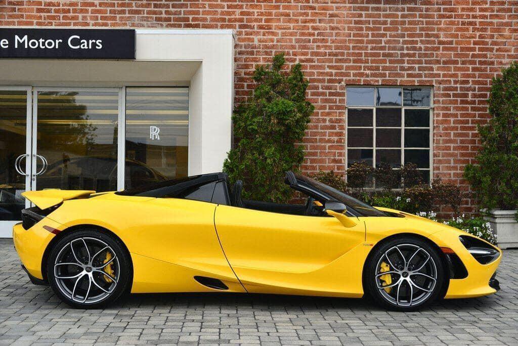 Lộ diện McLaren 720S Spider thứ 3 sẽ Việt Nam với màu sơn nổi bật