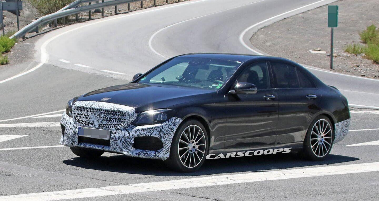 Lộ diện Mercedes-Benz C-Class thế hệ mới - Hình 1