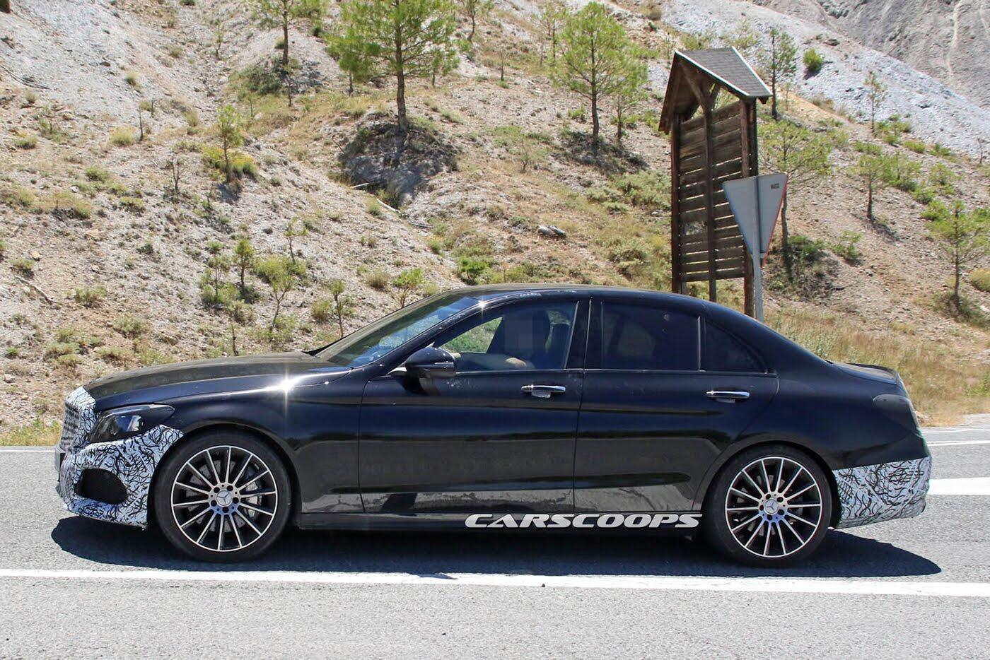 Lộ diện Mercedes-Benz C-Class thế hệ mới - Hình 2