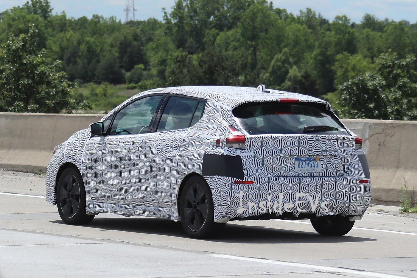 Lộ diện Nissan Leaf thế hệ mới với hệ thống tự lái - Hình 2