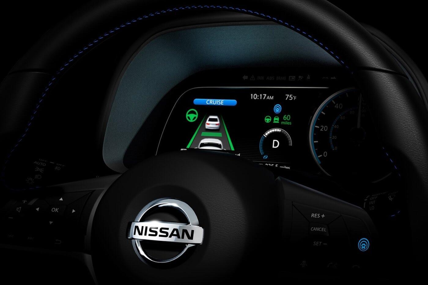 Lộ diện Nissan Leaf thế hệ mới với hệ thống tự lái - Hình 3
