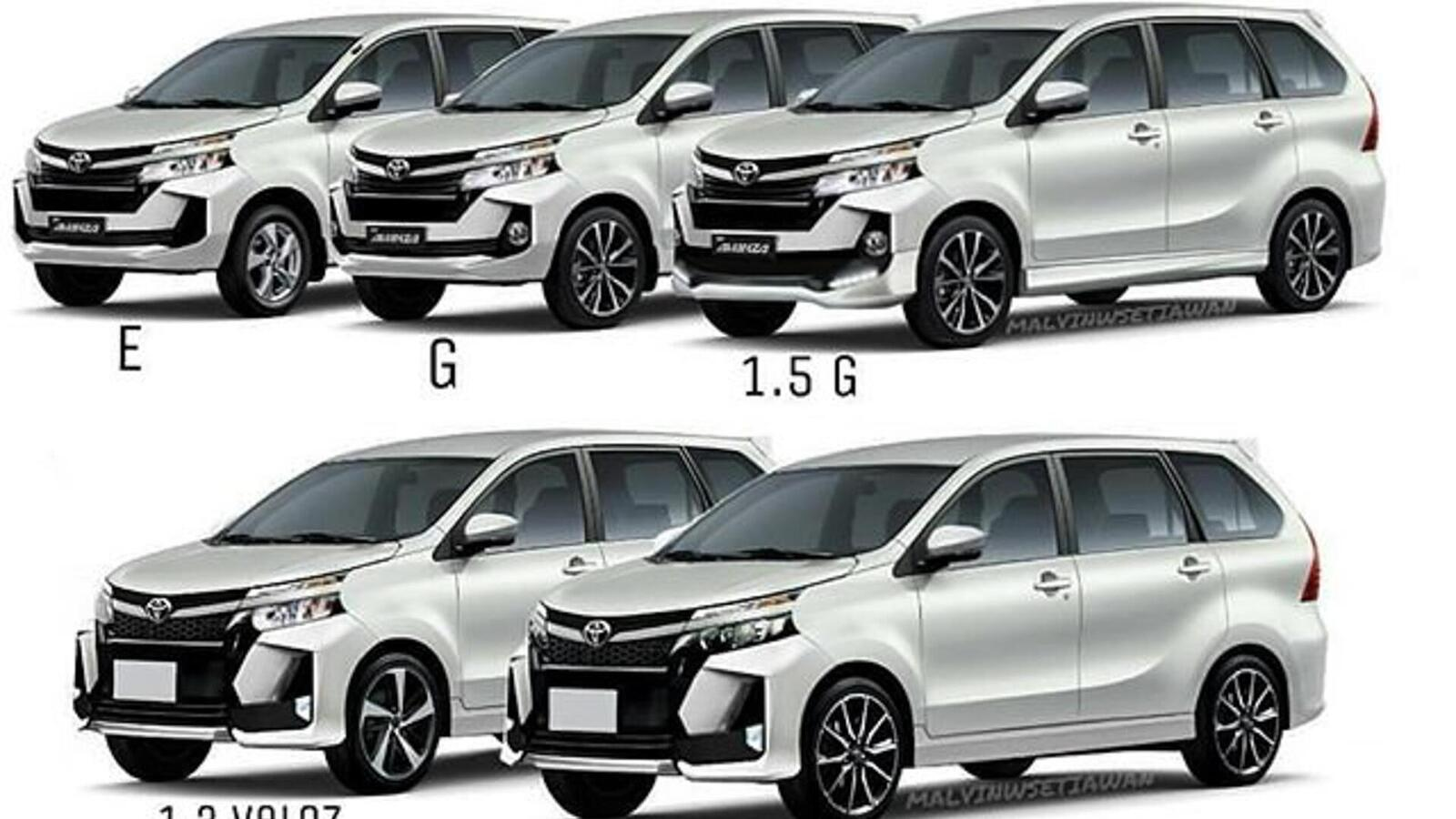 Lộ diện Toyota Avanza 2019 phiên bản nâng cấp Facelift mới với thiết kế đẹp phiên bản cũ - Hình 11