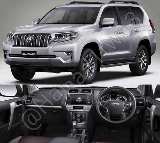 Lộ diện Toyota Land Cruiser Prado 2018, ra mắt mùa thu năm nay - Hình 1