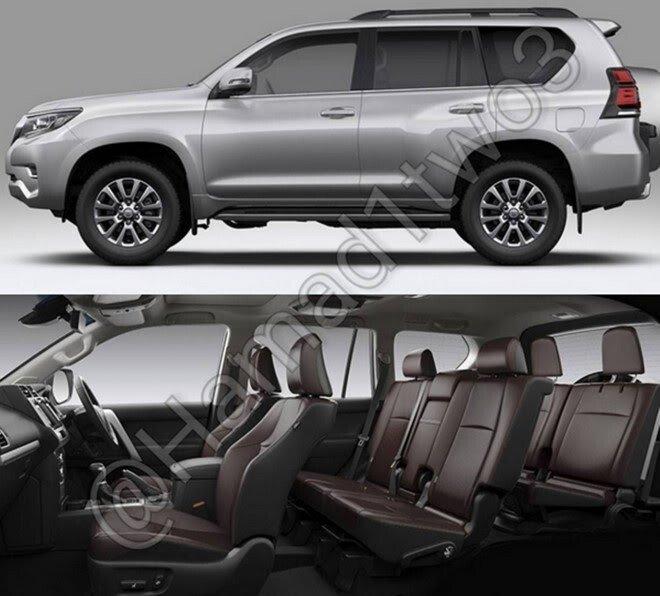 Lộ diện Toyota Land Cruiser Prado 2018, ra mắt mùa thu năm nay - Hình 2