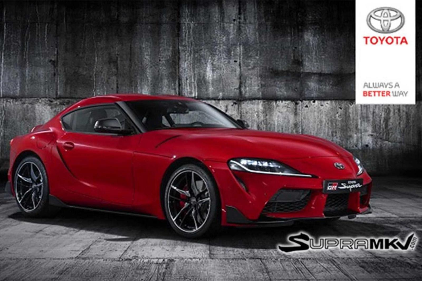Lộ diện Ttiết kế  của Toyota Supra thế hệ mới - Hình 1