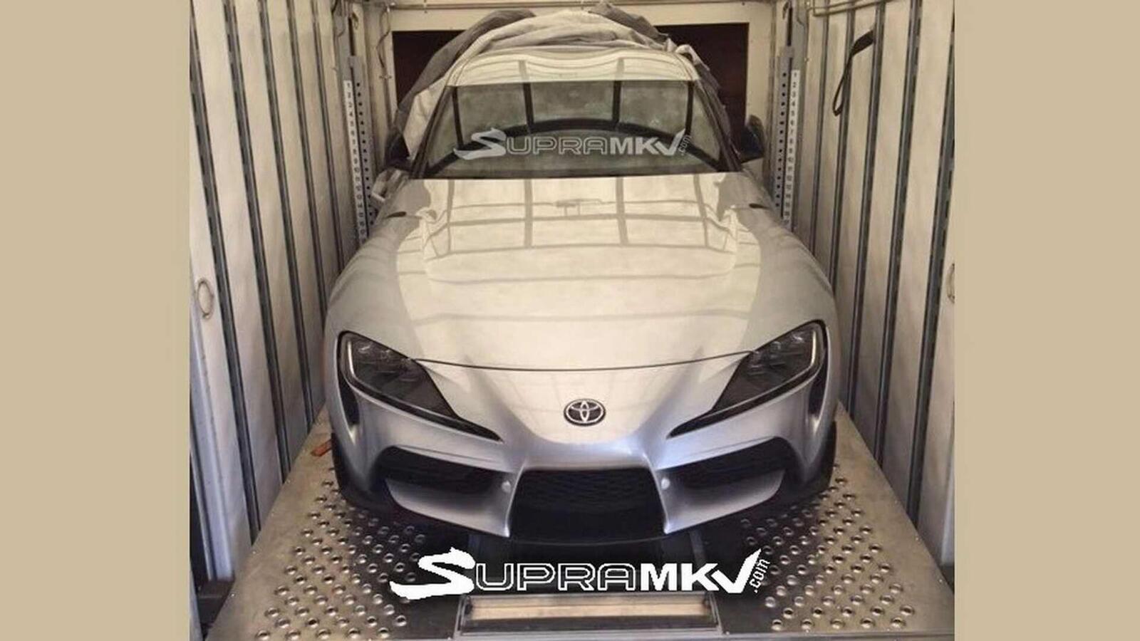 Lộ diện Ttiết kế  của Toyota Supra thế hệ mới - Hình 4
