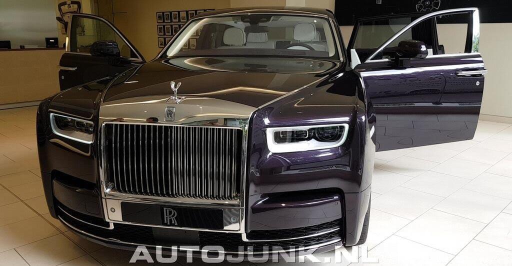 """Lộ hình ảnh """"bằng xương bằng thịt"""" của Rolls-Royce Phantom 2018 - Hình 1"""