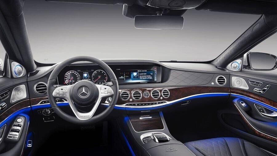 Lộ hình ảnh Mercedes-Maybach S-Class 2019 trên phố trước thềm Geneva 2018 - Hình 9
