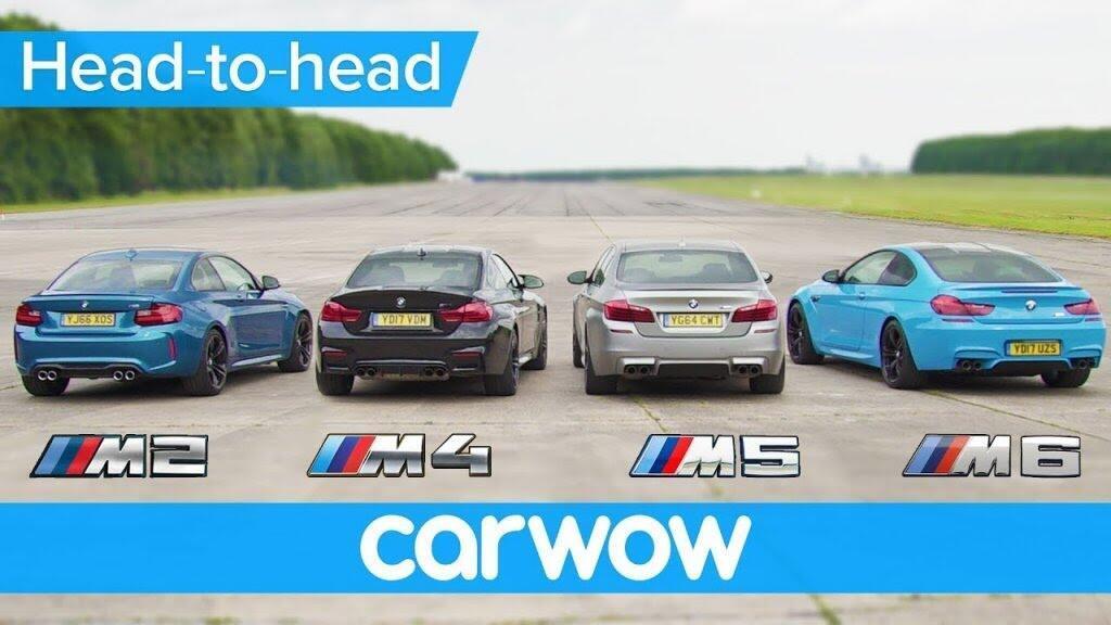 M2, M4, M5 và M6: Đâu sẽ là chiếc BMW M nhanh nhất? - Hình 1