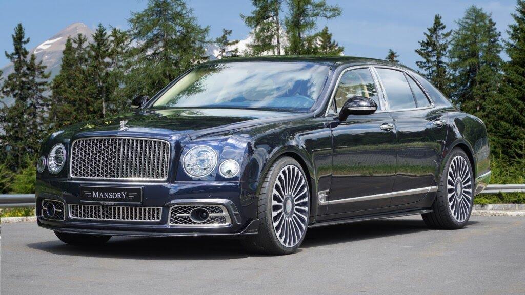 Mansory nâng cấp cho siêu sang Bentley Mulsanne - Hình 1
