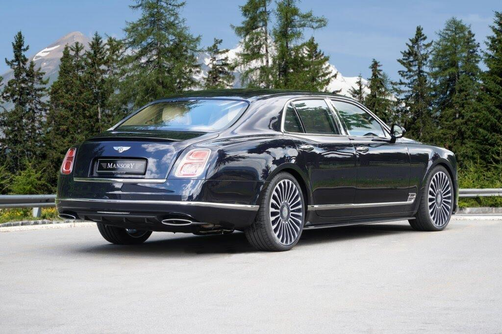 Mansory nâng cấp cho siêu sang Bentley Mulsanne - Hình 2