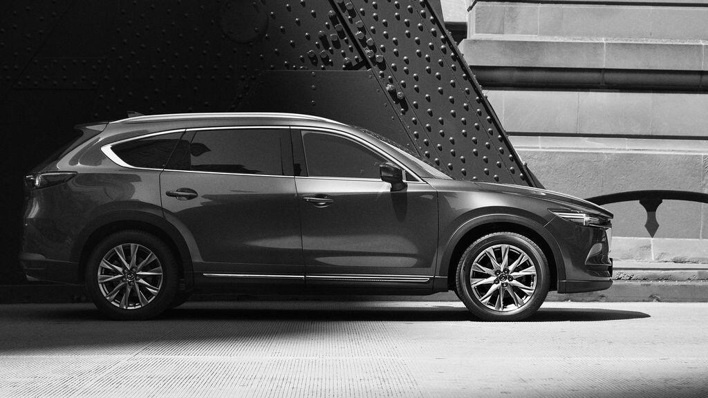 Mazda chính thức công bố hình ảnh ngoại thất của CX-8 - Hình 2