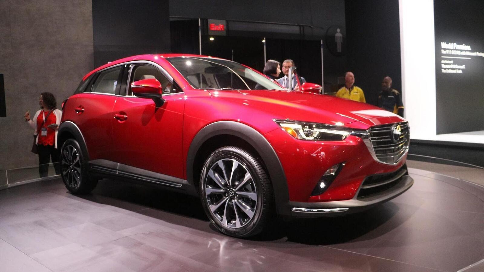 Mazda CX-3 2019 nâng cấp nội ngoại thất; động cơ mạnh hơn - Hình 1